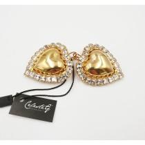 Orecchini Cuore e diamonds - 821