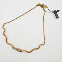 Collana Golden Snake a chiusura - 877