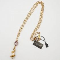 Collana con pendente Golden Snake - 881