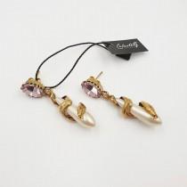 Orecchini Golden Snake - 882