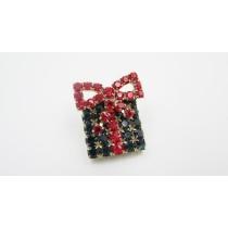 Spilla/Orecchini Regalo di Natale - 108R/109R