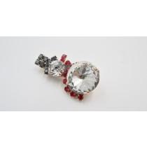Spilla/Orecchini Pupazzo di Neve - 106R/107R